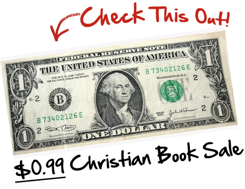 99 cent Christian book sale