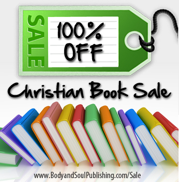 100 percent off Christian book sale